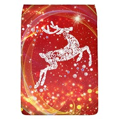 Background Reindeer Christmas Flap Covers (l)  by Nexatart