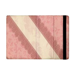 Background Pink Great Floral Design Ipad Mini 2 Flip Cases
