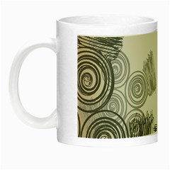 Background Retro Abstract Pattern Night Luminous Mugs