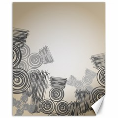 Background Retro Abstract Pattern Canvas 16  X 20