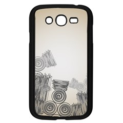 Background Retro Abstract Pattern Samsung Galaxy Grand Duos I9082 Case (black)