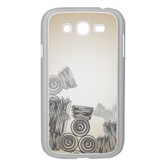 Background Retro Abstract Pattern Samsung Galaxy Grand Duos I9082 Case (white) by Nexatart