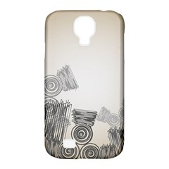 Background Retro Abstract Pattern Samsung Galaxy S4 Classic Hardshell Case (pc+silicone)