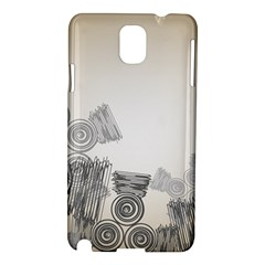 Background Retro Abstract Pattern Samsung Galaxy Note 3 N9005 Hardshell Case