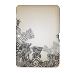 Background Retro Abstract Pattern Samsung Galaxy Tab 2 (10 1 ) P5100 Hardshell Case
