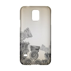 Background Retro Abstract Pattern Samsung Galaxy S5 Hardshell Case  by Nexatart