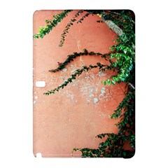 Background Stone Wall Pink Tree Samsung Galaxy Tab Pro 10 1 Hardshell Case