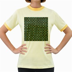 Background Vert Women s Fitted Ringer T Shirts