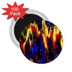 Banner Header Plasma Fractal 2 25  Magnets (100 Pack)