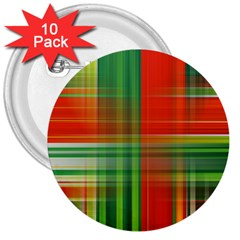 Background Texture Structure Green 3  Buttons (10 Pack)