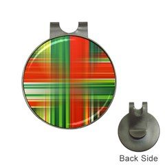 Background Texture Structure Green Hat Clips With Golf Markers by Nexatart