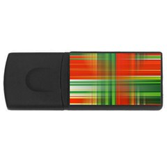 Background Texture Structure Green Usb Flash Drive Rectangular (4 Gb)