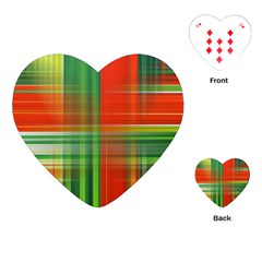 Background Texture Structure Green Playing Cards (heart)