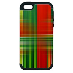 Background Texture Structure Green Apple Iphone 5 Hardshell Case (pc+silicone)