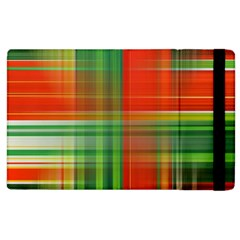 Background Texture Structure Green Apple Ipad 3/4 Flip Case