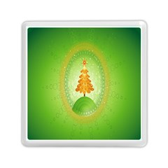 Beautiful Christmas Tree Design Memory Card Reader (square)  by Nexatart