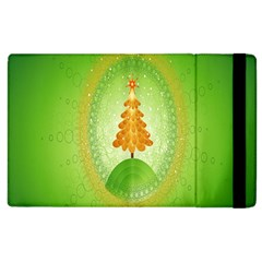 Beautiful Christmas Tree Design Apple Ipad 2 Flip Case