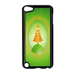 Beautiful Christmas Tree Design Apple Ipod Touch 5 Case (black) by Nexatart