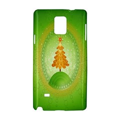 Beautiful Christmas Tree Design Samsung Galaxy Note 4 Hardshell Case