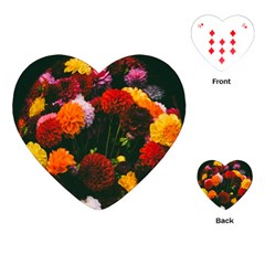 Beautifull Flowers Playing Cards (heart)  by Nexatart