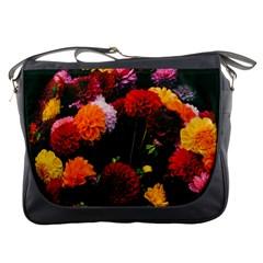 Beautifull Flowers Messenger Bags