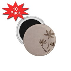 Background Vintage Drawing Sepia 1 75  Magnets (10 Pack)