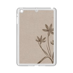 Background Vintage Drawing Sepia Ipad Mini 2 Enamel Coated Cases