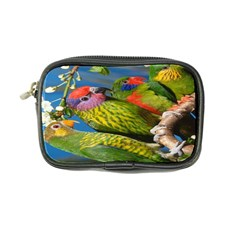 Beautifull Parrots Bird Coin Purse