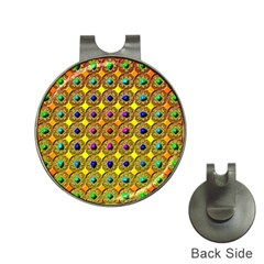 Background Tile Kaleidoscope Hat Clips With Golf Markers by Nexatart
