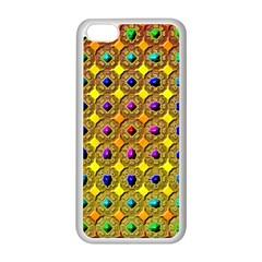 Background Tile Kaleidoscope Apple Iphone 5c Seamless Case (white)