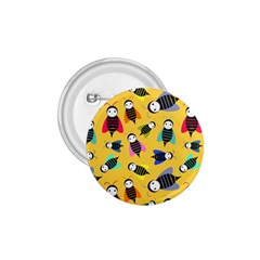Bees Animal Pattern 1 75  Buttons by Nexatart