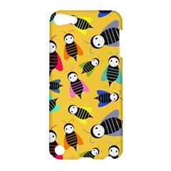 Bees Animal Pattern Apple Ipod Touch 5 Hardshell Case by Nexatart