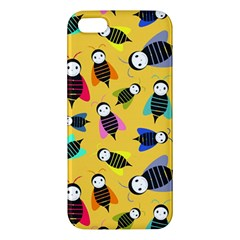Bees Animal Pattern Iphone 5s/ Se Premium Hardshell Case