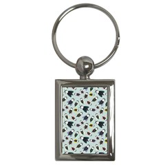 Bees Animal Pattern Key Chains (rectangle)