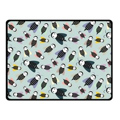 Bees Animal Pattern Fleece Blanket (small)
