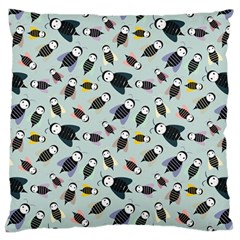 Bees Animal Pattern Standard Flano Cushion Case (two Sides)