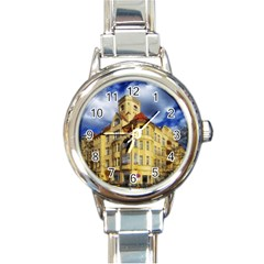 Berlin Friednau Germany Building Round Italian Charm Watch