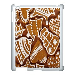 Biscuit Brown Christmas Cookie Apple Ipad 3/4 Case (white)