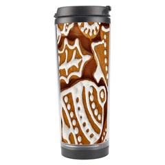 Biscuit Brown Christmas Cookie Travel Tumbler
