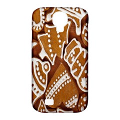 Biscuit Brown Christmas Cookie Samsung Galaxy S4 Classic Hardshell Case (pc+silicone)