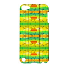 Birds Beach Sun Abstract Pattern Apple Ipod Touch 5 Hardshell Case