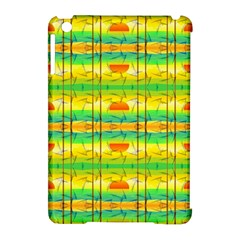 Birds Beach Sun Abstract Pattern Apple Ipad Mini Hardshell Case (compatible With Smart Cover)