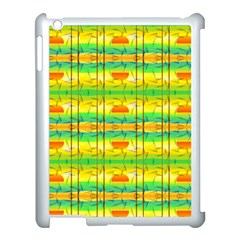 Birds Beach Sun Abstract Pattern Apple Ipad 3/4 Case (white)