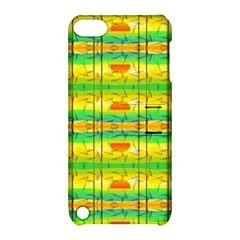 Birds Beach Sun Abstract Pattern Apple Ipod Touch 5 Hardshell Case With Stand by Nexatart