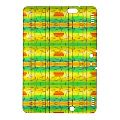 Birds Beach Sun Abstract Pattern Kindle Fire Hdx 8 9  Hardshell Case by Nexatart