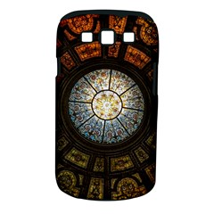 Black And Borwn Stained Glass Dome Roof Samsung Galaxy S Iii Classic Hardshell Case (pc+silicone) by Nexatart