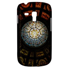 Black And Borwn Stained Glass Dome Roof Galaxy S3 Mini by Nexatart