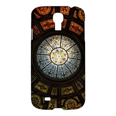 Black And Borwn Stained Glass Dome Roof Samsung Galaxy S4 I9500/i9505 Hardshell Case by Nexatart