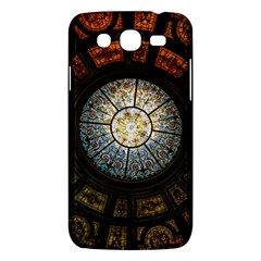 Black And Borwn Stained Glass Dome Roof Samsung Galaxy Mega 5 8 I9152 Hardshell Case  by Nexatart