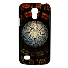 Black And Borwn Stained Glass Dome Roof Galaxy S4 Mini by Nexatart